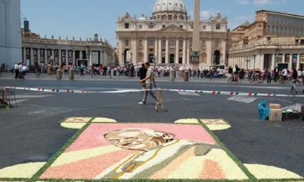 Infiorata di Roma 2012