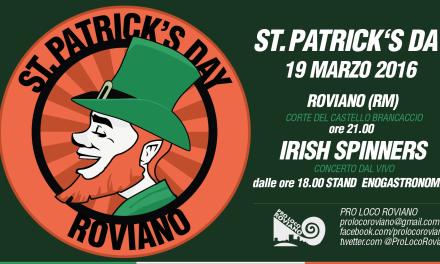 St.Patrick Day a Roviano