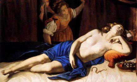 La morte ti fa bella: Cleopatra e Lucrezia